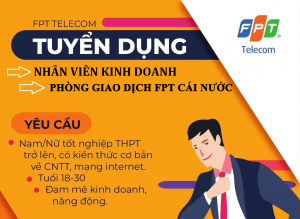 tuyen dung fpt cai nuoc