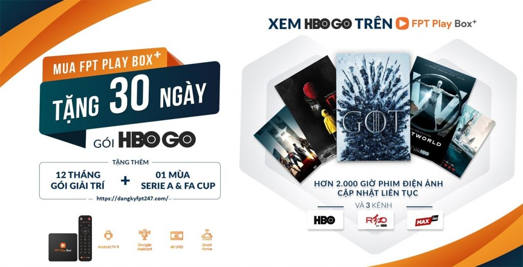HBO GO FPT BOX STORE