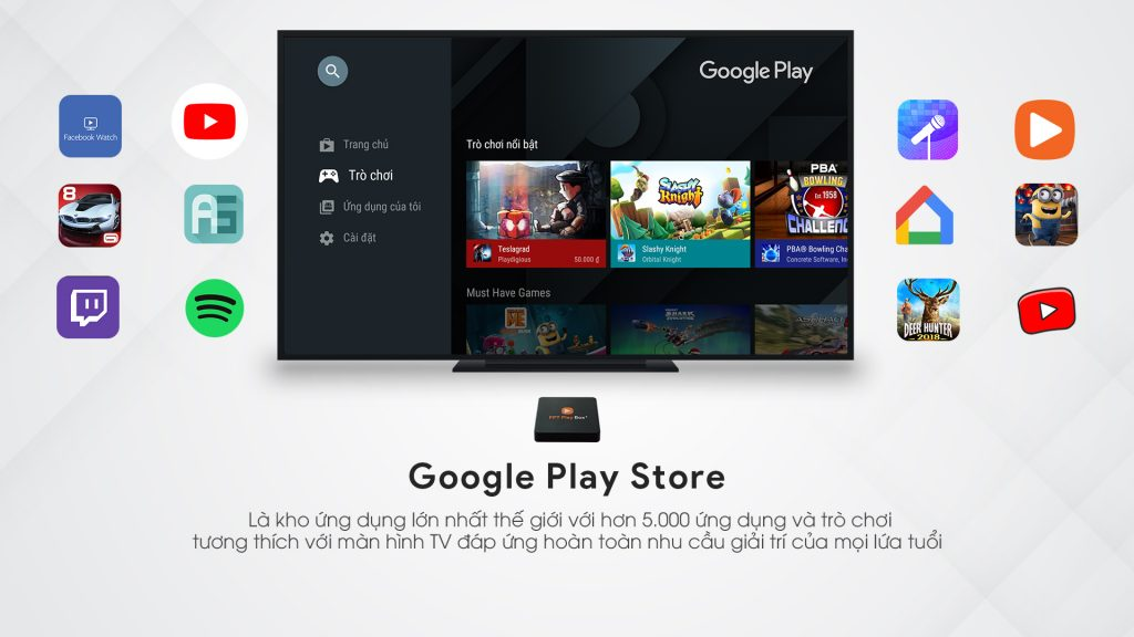 Google Play Store - FPT Play Box 2020
